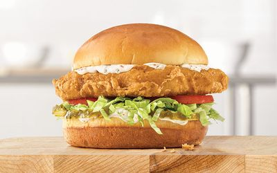 Limited Time Only Beer Battered Fish Sandwiches Available at Arby's