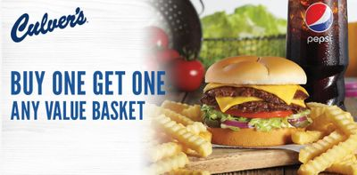 Buy One Get One Free Value Basket Coupon Available when You Sign Up for MyCulver's Account Online (Limited Time Only)