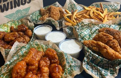 All-In Bundle: Chicken Tenders and Boneless Wings Meal Arrives at Select Wingstop Locations for $19.99