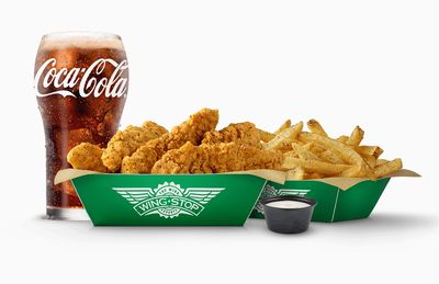 Newly Featured Large 5 Piece Crispy Tenders Combo Available at Wingstop