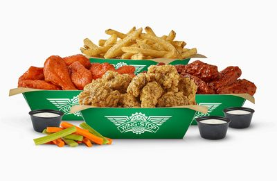 30 Crew Pack Available at Participating Wingstop Restaurants