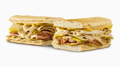 Limited Time Only Toasted Cubano Sandwich Offered at Participating Quiznos Locations