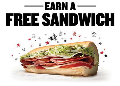 Sign Up for Freaky Fast Rewards Online at Jimmy John's and Receive a Free 8' Sub After You Place Your First Order