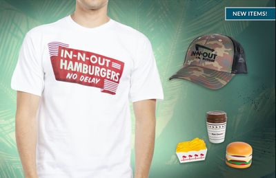 New Apparel and Merch Available Through In-N-Out Burger's Online Company Store