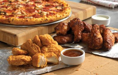 New 10 Piece Chicken Wings Available for $7.99 with Carryout at Domino's Pizza