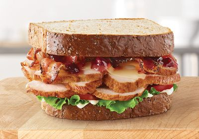 Arby's Serves Up the New Market Fresh Cranberry Deep Fried Turkey Sandwich for a Limited Time