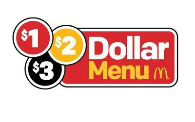 Save with the New $1 $2 $3 Menu at McDonald's