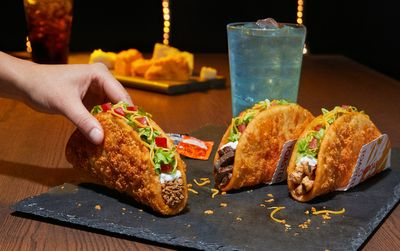 The Toasted Cheddar Chalupa is Back by Popular Demand at Taco Bell for a Limited Time Only