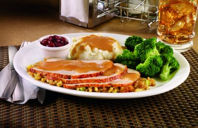 Denny's Launching a Turkey & Dressing Dinner for the Holidays