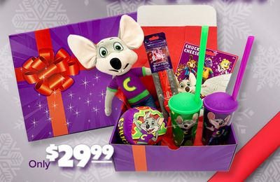 Chuck E. Cheese's New $29.99 Holiday Gift Box Now Available for Pre-Order