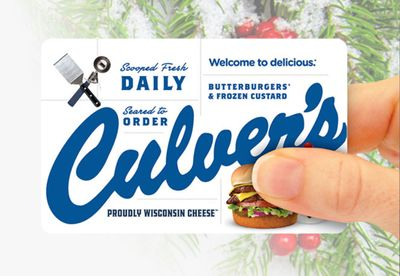 Get a Free Regular Value Basket at Culver's When You Purchase $30 or More in Culver's Gift Cards