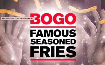 Rally's Offers Black FryDay BOGO Deal on their Famous Seasoned Fries November 27