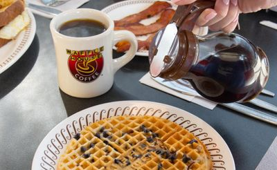 Blueberry Waffles Return to Participating Waffle House Restaurants for a Limited Time Only