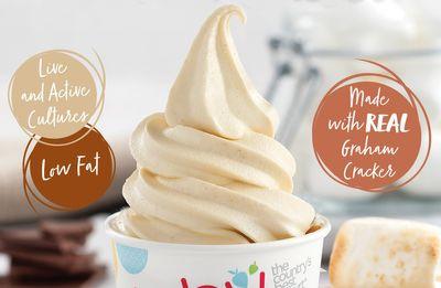 TCBY Features Popular Graham Cracker Soft Serve Frozen Yogurt
