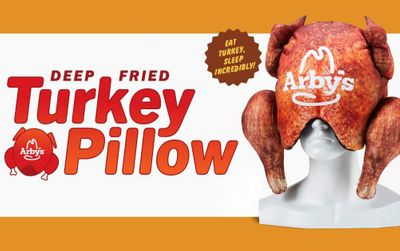 Arby's Rolls Out their New Deep Fried Turkey Pillow (Sold Online)
