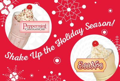 Popular Holiday Shakes Return to Steak 'n Shake For a Limited Time Only
