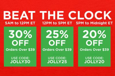 New Beat the Clock Promo Codes Reward Early Morning Online Shoppers at Mrs. Fields