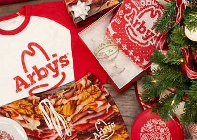 Arby's Launches New Holiday Collection in the Arby's Online Store