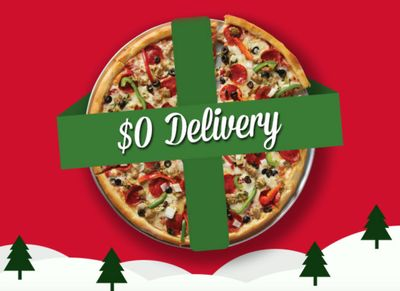 Sbarro Pizza Offers all Slice Society Members $0 Delivery with Grubhub & More in December