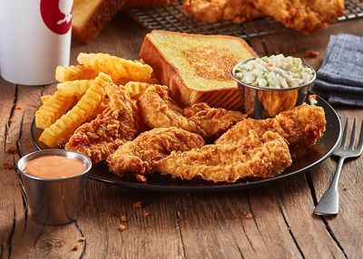 New 4, 5, or 6 Piece Chicken Finger Plates Featured at Zaxby's for a Limited Time