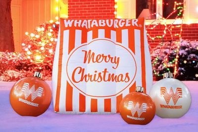 Save 30% Off Whataburger's Inflatable Merry Christmas Table Tent with New Promo Code