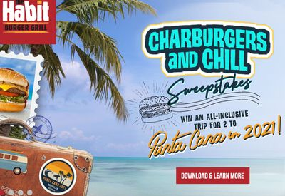 Enter The Habit Burger Grill's Sweepstakes when you Download their App and Make an Account