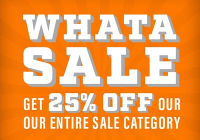 """Whataburger's Online Shop Launches 25% Off """"Whata Sale"""" Event with Promo Code"""