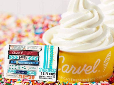Mix It Up eGift Cards Now Arrive at Carvel with a Limited Time Only 20% Off Holiday Sale