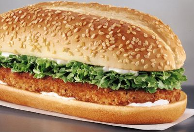 Get 2 Original Chicken Sandwiches and 2 Small Fries for Only $4.99 at Burger King