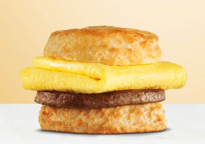 Spend $20+ at Hardee's Through the Uber Eats App and Receive a Free Sausage, Egg & Cheese Biscuit