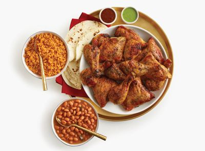 14 Piece Holiday Family Dinner Available Through to New Years at El Pollo Loco
