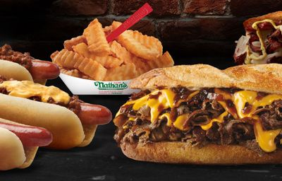 """Brand New Menu Featuring """"The Flavor of New York"""" Arrives with Premium Hot Dogs and Burgers at Nathan's Famous"""