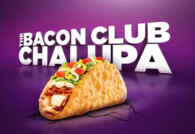 For a Limited Time Taco Bell is Once Again Dishing Up the Bacon Club Chalupa