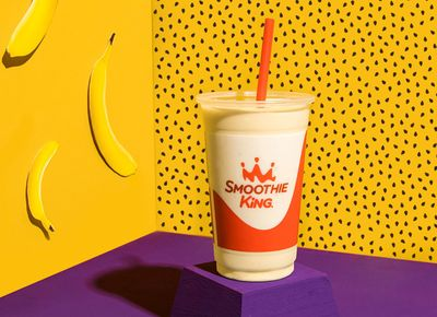 Smoothie King Rings in the New Year with their New Metabolism Boost Banana Passion Fruit Smoothie