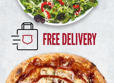 Receive Free Delivery with In-app and Online Orders Through to January 10 at MOD Pizza