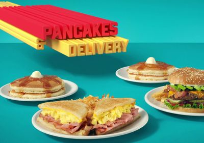 Denny's Rewards Members Can Score Free Pancakes and Free Delivery with an Online or In-app $5+ Purchase