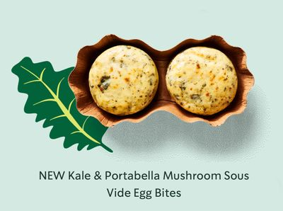 Starbucks Adds Protein Rich Kale & Portabella Mushroom Egg Bites to the Breakfast Line Up