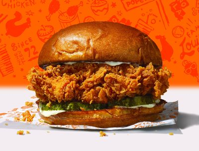 Get a Free Chicken Sandwich With Your First In-app Order of $10 or More at Popeyes Chicken