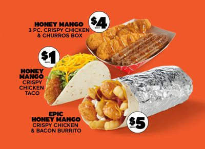 New Honey Mango Crispy Chicken Menu Arrives at Del Taco for a Limited Time Only