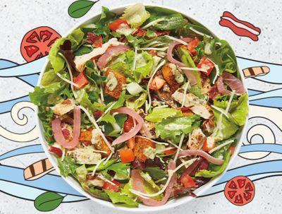 MOD Pizza Introduces the New Green Goddess BLT Salad with the Flash MOD Menu