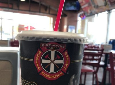 Through to January 17 Earn Double the Reward Points at Firehouse Subs When You Add a Drink to Your Order