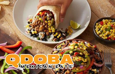 Get Free Delivery on $20+ Orders at QDOBA Mexican Eats Every Friday, Saturday and Sunday Through to February 7