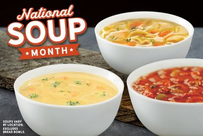 Quiznos Dishes Up $1 Bowls of Soup with an 8 Inch Sub Purchase Through to January 23