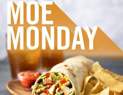 Save on Burrito or Bowl Combos with the Moe Monday Discount Every Monday at Moe's Southwest Grill