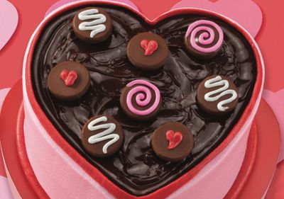 New Box of Chocolates Ice Cream Cake Arrives at Baskin-Robbins for Valentine's Day