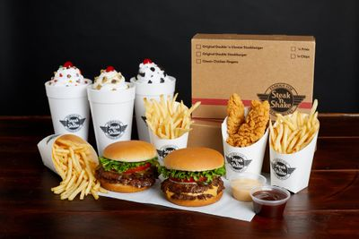 Save $10 Off a $50+ Catering Order with a New Promo Code this Weekend at Steak 'n Shake