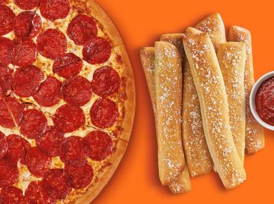 Buy a Pizza and Get a Free Order of Crazy Bread from Little Caesars on February 6 and 7