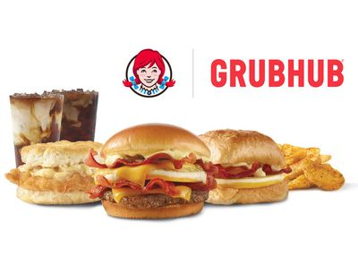 On February 7, Get a $0 Delivery Fee When You Purchase a $15+ Wendy's Order Using Grubhub