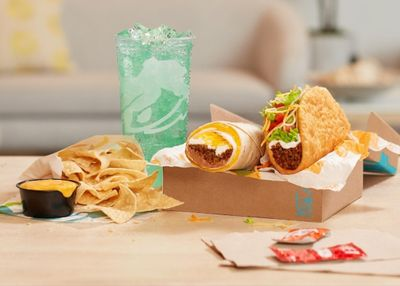 Taco Bell Rolls Out their New $5 Build Your Own Cravings Box Nationwide on February 11