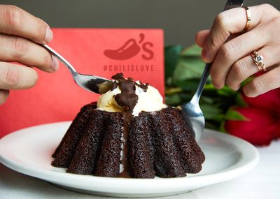 My Chili's Rewards Members Will Receive a Free Dessert Through to Valentine's Day with an Entree Purchase